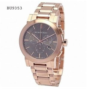 Burberry Rose Gold Swiss Chronograph Watch BU9353